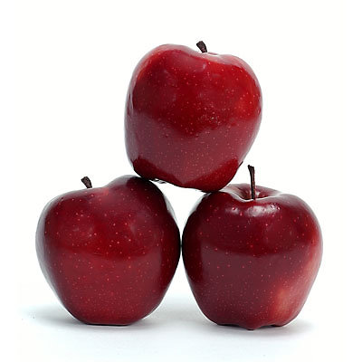 homeopathy . red apples  (old)